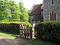 Gate to St Peter's Church, East Tytherley - geograph.org.uk - 423010.jpg