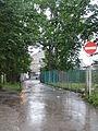Gates to station's market.JPG