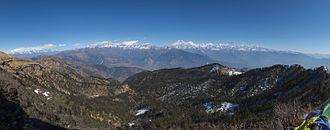 Gaurishankar - Image: Gaurishankar Mountain from Kalinchowk