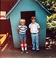 Gay-Jay Montessori, Ann Arbor, Michigan 1979 playhouse in backyard.JPG