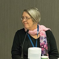 Gay Haldeman Worldcon 75 in Helsinki 2017 (cropped).jpg