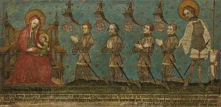 tableau commémoratif des seigneurs de Montfoort