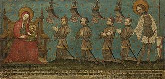 Battle of Warns - Memorial tablet for the lords of Montfoort, Centraal Museum, Utrecht.