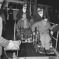Gehandicapten terug van Olympische Spelen te Tokio, C. Prins , die twee gouden m, Bestanddeelnr 917-1371.jpg