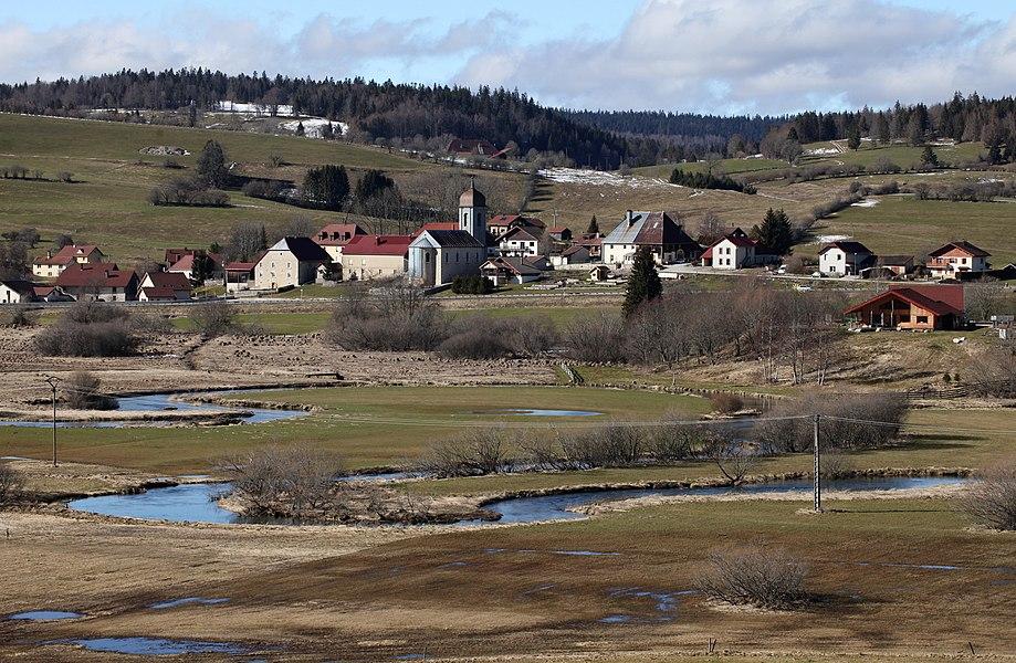 Gellin et le Doubs.