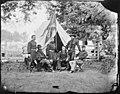 General Philip Sheridan, General Wesley Merritt and Others, Including General Henry E. Davies? (3996057772).jpg