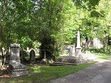 Cemeteries and crematoria in brighton and hove wikipedia for Extra mural cemetery brighton