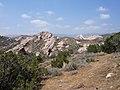 Geocaching at Vasquez Rocks (2427316836).jpg