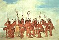George Catlin - Braves' Dance at Fort Snelling - 1985.66.445 - Smithsonian American Art Museum.jpg