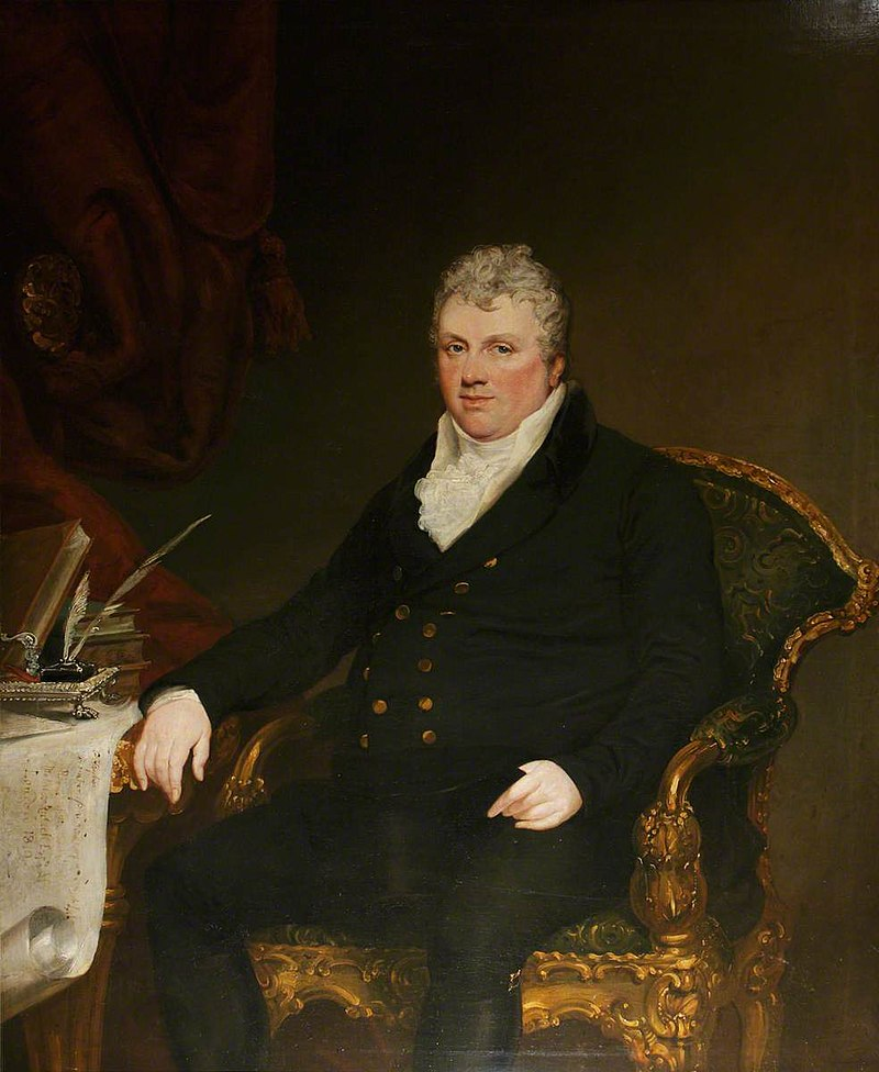 George Hayter (1792-1871) - Matthew Russell (1765–1822), MP, of Brancepeth Castle and Hardwicke House, County Durham - 814172 - National Trust.jpg