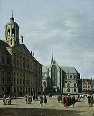 The Town Hall of Amsterdam