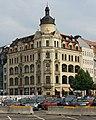 Geschaftshaus Brühl Ecke Hainstraße. - Architekt, Max Pommer. - Erbaut 1899-1900 - Saniert 1993-1995 - panoramio.jpg