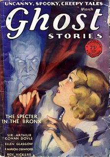 <i>Ghost Stories</i> (magazine) US pulp fantasy magazine