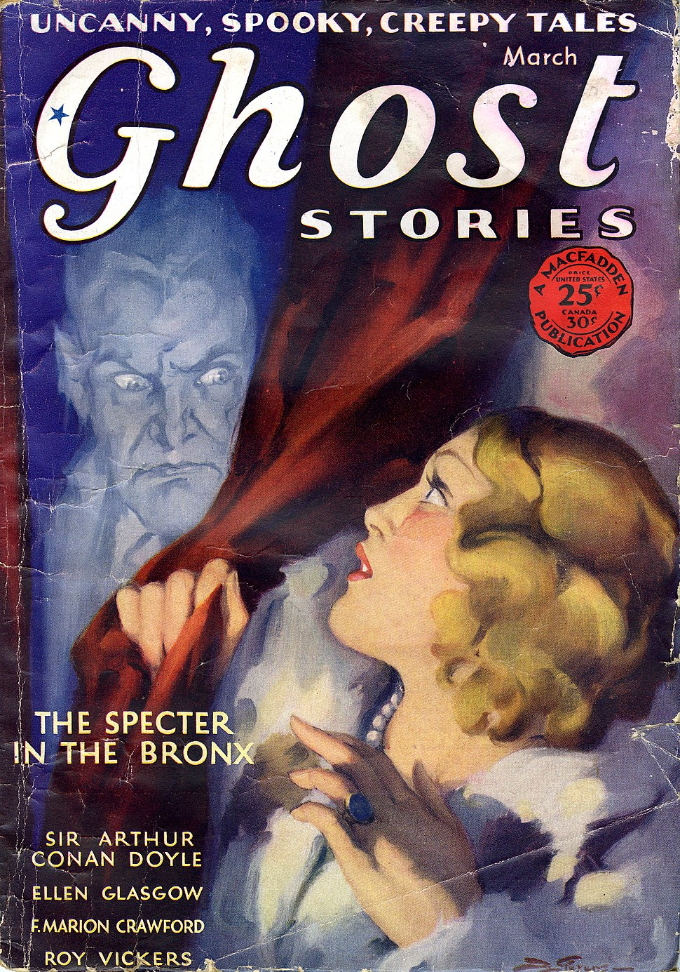 Ghost Stories March 1930