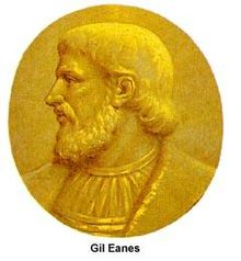 Medallion portrait of Gil Eanes