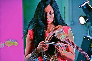 Gingger Shankar Indian American singer and composer