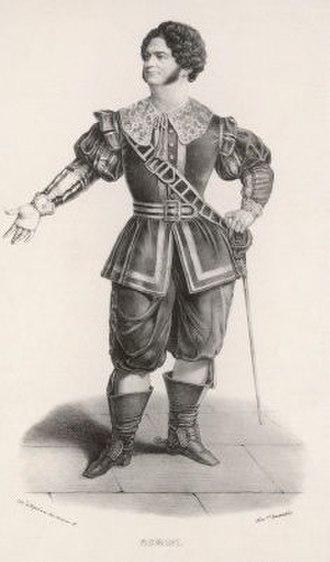 Anna Bolena - Rubini as Lord Percy in Anna Bolena