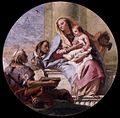 Giovanni Domenico Tiepolo - Virgin and Child with Saints - WGA22398.jpg