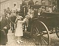 Girl Offering Flowers to Pierre Cuypers on Occasion of His 90th Birthday Cuypershuis 0662 7.jpg