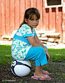 Girl with a football.jpg