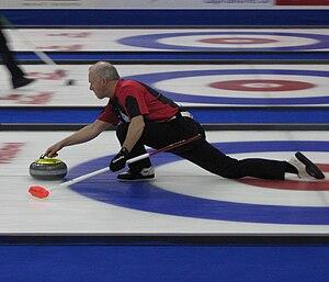 2010 Tim Hortons Brier - Glenn Howard at the 2010 Tim Hortons Brier