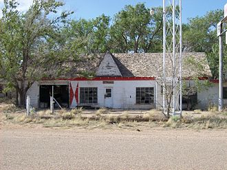 U.S. Route 66 in Texas - First/Last Motel in Texas, Glenrio