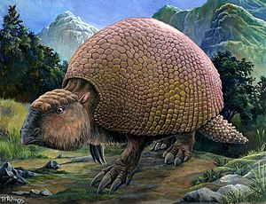 Glyptodon - Artist's conception