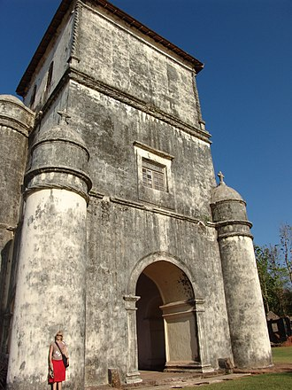 Churches and convents of Goa - The Church of the Rosary built in late Manueline style, the oldest in Goa.