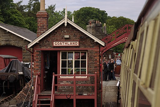 Goathland railway station MMB 05
