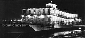 National Register of Historic Places listings in Calhoun County, Illinois - Image: Goldenrod Showboat St.Louis