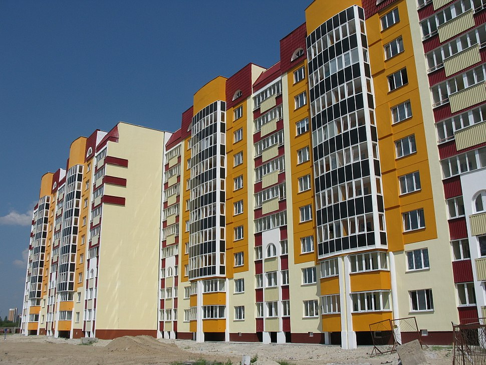 Gomel. House in a new area
