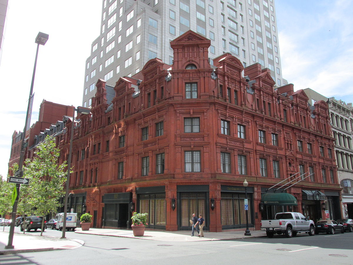 Goodwin hotel wikipedia for The hartford house