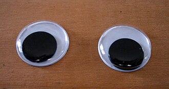 Googly eyes - Two googly eyes