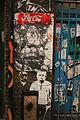 Graffiti in Shoreditch, London - Pac-One, St8ment (12996609424).jpg
