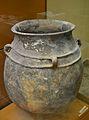 Gran recipient d'emmagatzemagte, Puntal de Cambra, Villar del Arzobispo, Museu de Prehistòria de València.JPG