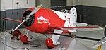 Granville Gee Bee R-2 (Fantasy Of Flight Museum, Florida).jpg