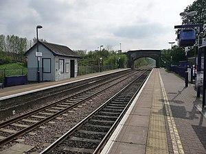Bedwyn railway station - Image: Great Bedwyn Railway Station geograph.org.uk 1469545
