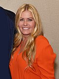 Greg and Nicole Eggert at the Chiller Theatre Expo 2017.jpg