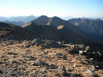 Rottenmann and Wölz Tauern - The Rettlkirchspitze, the highest summit in the range.