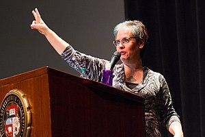 Greta Christina - Christina speaking at the University of Missouri in March 2014