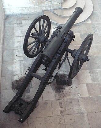 Canon de 12 Gribeauval - Canon de 12 Gribeauval, top view