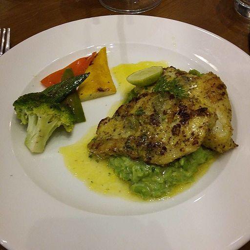 Grilled Fish (Bhetki)
