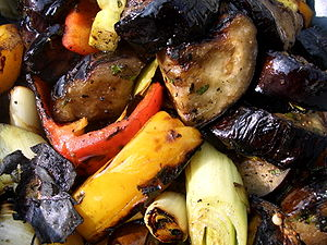 300px Grilled vegetables Getting Kids in the Kitchen   Preparing and Eating Food