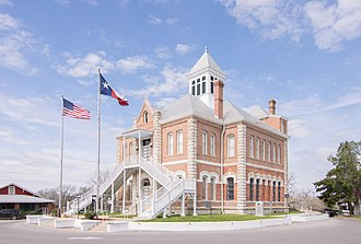 Grimes County, Texas - Image: Grimes County Courthouse, Anderson, Texas 1803091126 (40711037292)