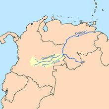 Orinoco River Inírida River ...