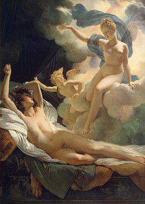 Morpheus (mythology) - Image: Guerin Pierre Narcisse Morpheus and Iris 1811