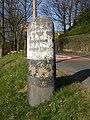 Guide stone, Penistone Road - Riley Lane, Kirkburton - geograph.org.uk - 393840.jpg