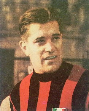 Capocannoniere - Gunnar Nordahl, by winning the Capocannoniere title five times, is the pluricapocannoniere of the Serie A, while playing at A.C. Milan