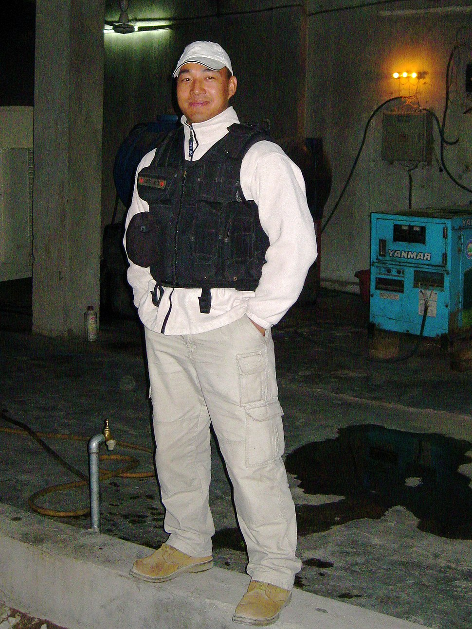 Gurkha bodyguard in Nangarhar