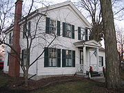 The 1857 George Gurler House In DeKalb is affiliated with dairy farmers in the Gurler family.